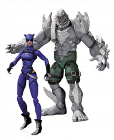 20749 - INJUSTICE CATWOMAN VS DOOMSDAY 2 PACK AF