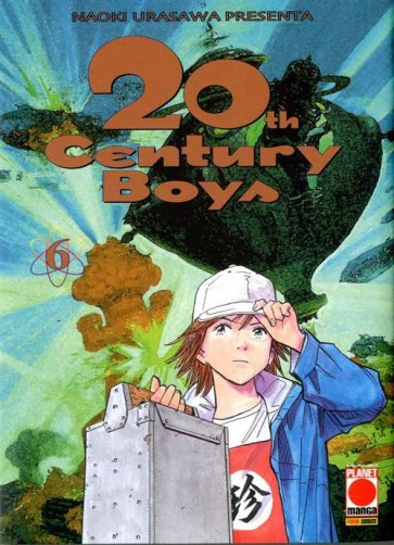 20TH CENTURY BOYS 6 - QUARTA RISTAMPA