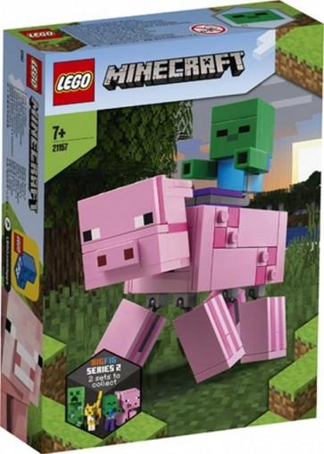 21157 - LEGO MINECRAFT - MAIALE E BABY ZOMBIE