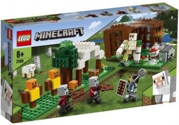 21159 - LEGO MINECRAFT - L'AVAMPOSTO DEL SACCHEGGIATORE