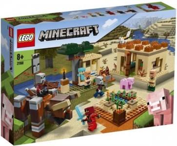 21160 - LEGO MINECRAFT - L'INCURSIONE DELLA BESTIA