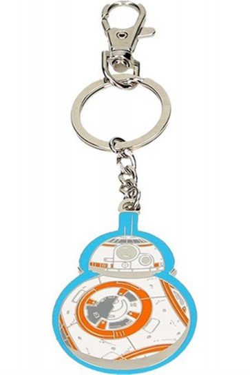 23953 - STAR WARS EPISODE VII - PORTACHIAVI IN METALLO - BB-8 BLUE EDGE