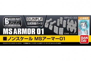 28018 - BUILDERS PARTS HD MS ARMOR 01 1/144