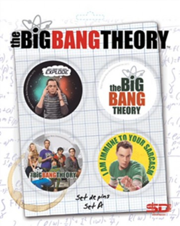 32767 - BIG BANG THEORY - PIN SET - A