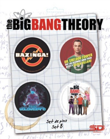 33110 - BIG BANG THEORY - PIN SET - B