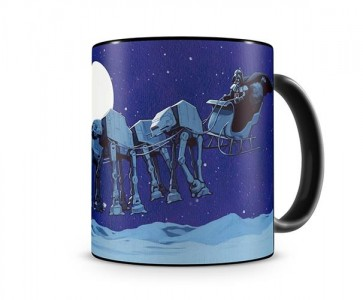 33366 - STAR WARS - TAZZA - AT-AT SLEIGH CHRISTMAS MUG