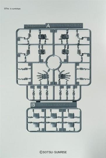 33896 - BUILDERS PARTS HD MS HAND ZEON 1/144