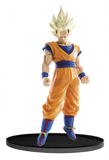 34226 - DRAGONBALL SUPER - SCULTURE BIG BUDOUKAI 6 VOL.2 - S.S. 2 GOKU - BANPRESTO STATUA 17CM