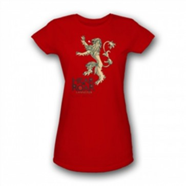 35722 - GAME OF THRONES - LANNISTER LOGO - DONNA - L