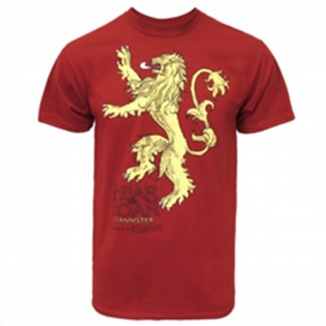 36375 - GAME OF THRONES - LANNISTER LOGO - UOMO - XXL
