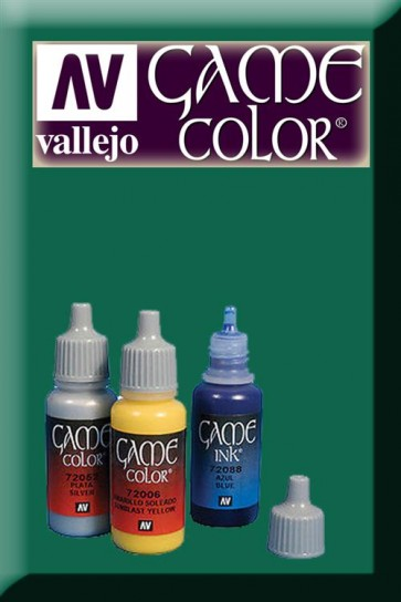 47516 - GAME COLOR BLACK GREEN INK 72090