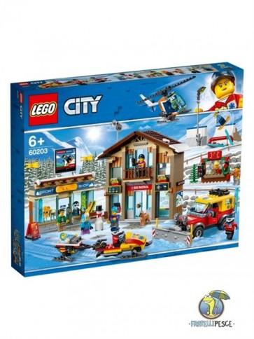 60203 - LEGO IDEAS - STAZIONE SCIISTICA
