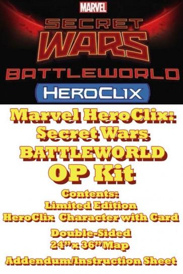62046 - MARVEL HEROCLIX: SECRET WARS BATTLEWORLD OP KIT