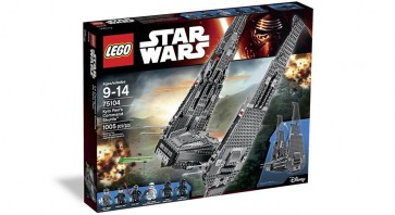 75104 - LEGO KYLO RENS COMMAND SHUTTLE