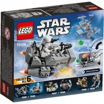 75126 - LEGO MICROFIGHTER FIRST ORDER SNOWSPEEDER