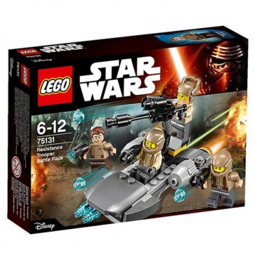 75131 - RESISTANCE TROOPER BATTLE PACK