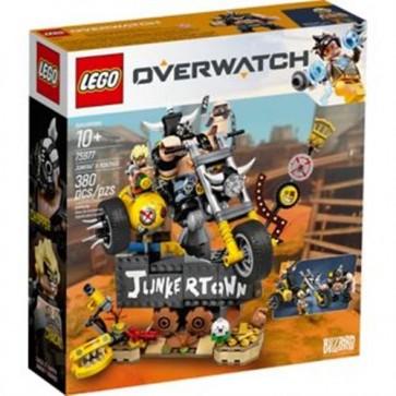 75977 - LEGO OVERWATCH - JUNKRAT E ROADHOG