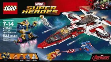 76049 - LEGO MISSIONE SPAZIALE DELL'AVEN-JET