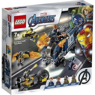 76143 - MARVEL SUPER HEROES - ATTACCO DEL CAMION