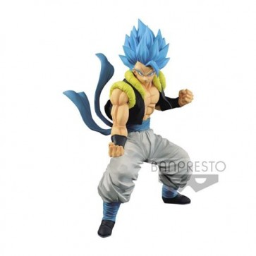 81843 - DRAGON BALL SUPER - BROLY THE FILM - SUPER SAIYAN GOD SUPER SAIYAN GOGETA - BANPRESTO STATUA 18CM
