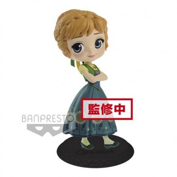 85654 - DISNEY - Q POSKET - ANNA SURPRISE COORDINATE (NORMAL COLOR VER.) - FIGURE 14CM