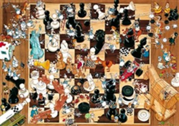 8793 - PUZZLE 1000 DEGANO BLACK OR WHITE