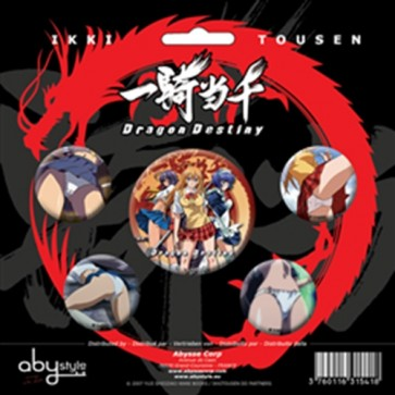 ABYACC008 - SET DI SPILLE IKKI TOUSEN GIRLS IN ACTION 2