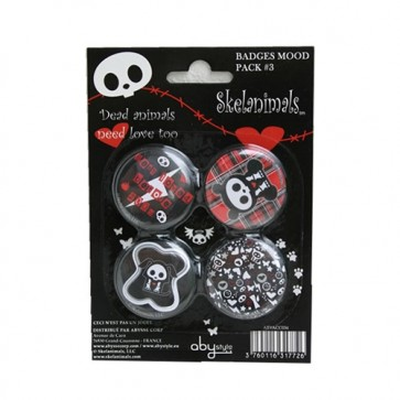 ABYACC034 - SET DI SPILLE SKELANIMALS PACK 3