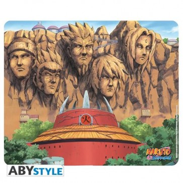 ABYACC181 - MOUSEPAD NARUTO SHIPPUDEN THE WALL OF HOKAGE