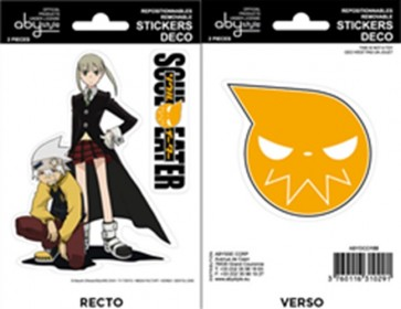 ABYDCO155 - SOUL EATER - MINI STICKERS SOUL EATER MAKA