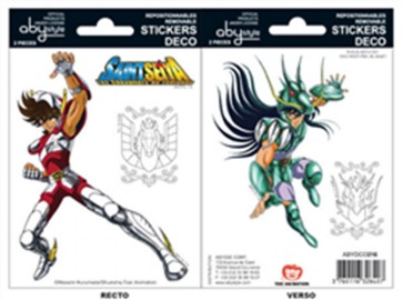 ABYDCO216 - SAINT SEIYA - MINI STICKERS - PAGASUS / SIRIO