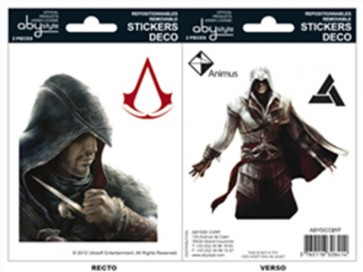ABYDCO217 - ASSASSIN'S CREED - MINI STICKERS - EZIO / ALTAIR
