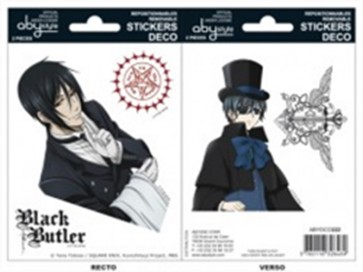 ABYDCO222 - BLACK BUTLER - MINI STICKERS - SEBASTIAN CIEL