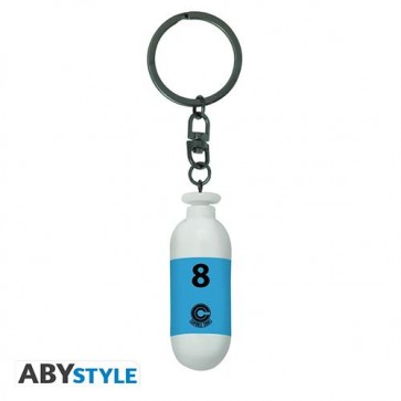 ABYKEY340 - DRAGON BALL - PORTACHIAVI 3D - BLUE CAPSULE