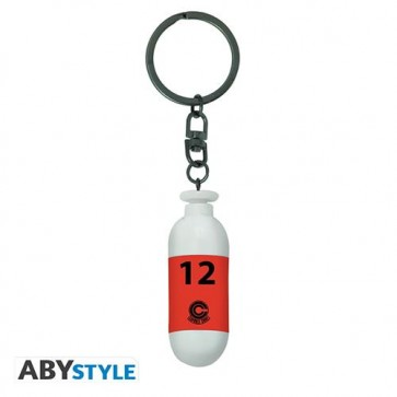 ABYKEY341 - DRAGON BALL - PORTACHIAVI 3D - RED CAPSULE