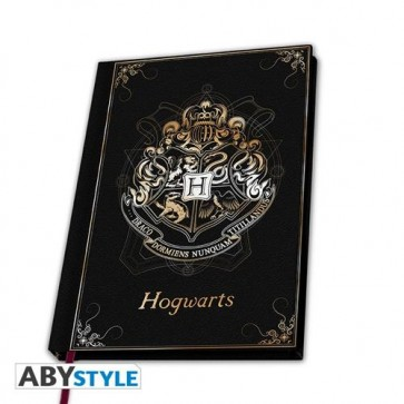 ABYNOT050 - HARRY POTTER - PREMIUM A5 NOTEBOOK HOGWARTS