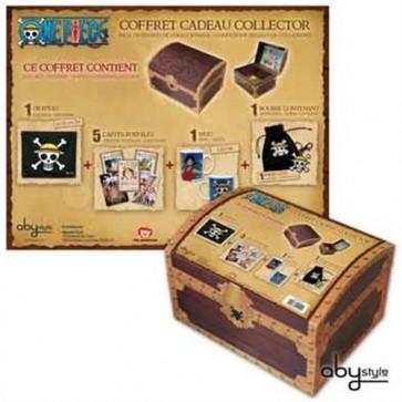 ABYPCK042 - ONE PIECE - TREASURE BOX 2 - BANDIERA + TAZZA + PORTACHIAVI + CARTOLINE + SACCHETTO