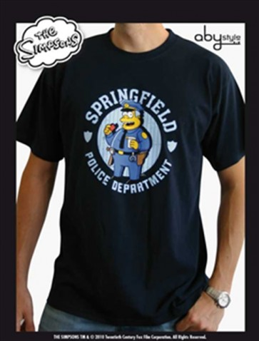 ABYTEX091XL - T-SHIRT - SIMPSON - POLICE - XL