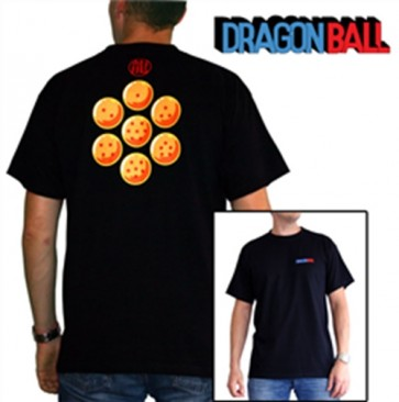 ABYTEX139S - T-SHIRT - DRAGON BALL - SFERE DEL DRAGO - S