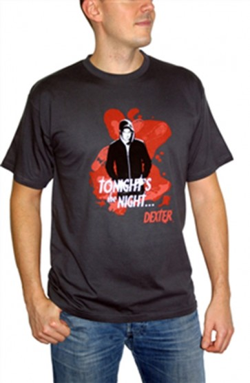 ABYTEX152M - DEXTER T-SHIRT TONIGHT'S THE NIGHT M