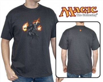 ABYTEX173XXL - MAGIC - T-SHIRT CHANDRA - GRIGIO - UOMO XXL