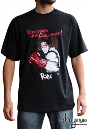 ABYTEX189M - T-SHIRT - STREET FIGHTER - RYU - M