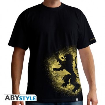 ABYTEX328L - T-SHIRT - GAME OF THRONES - LANNISTER SPRAY - UOMO L