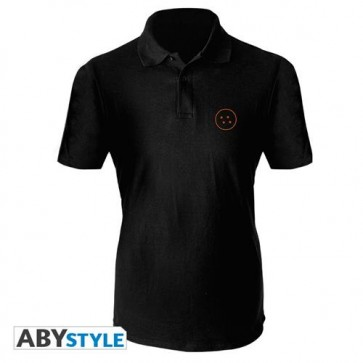 ABYTEX576L - POLO SHIRT UOMO - DRAGON BALL - SYMBOL L