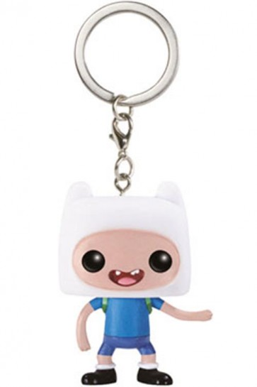 ADVENTURE TIME - POP FUNKO VINYL KEYCHAIN FINN 4 CM
