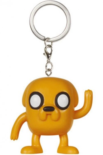 ADVENTURE TIME - POP FUNKO VINYL KEYCHAIN JAKE 4 CM