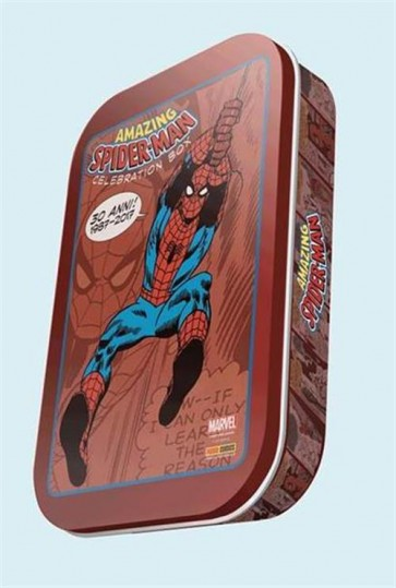 AMAZING SPIDER-MAN - 30 YEARS CELEBRATION BOX - LIMITED RED EDITIO