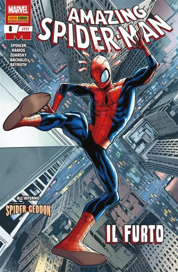 AMAZING SPIDER-MAN 8 - AMAZING SPIDER-MAN 717
