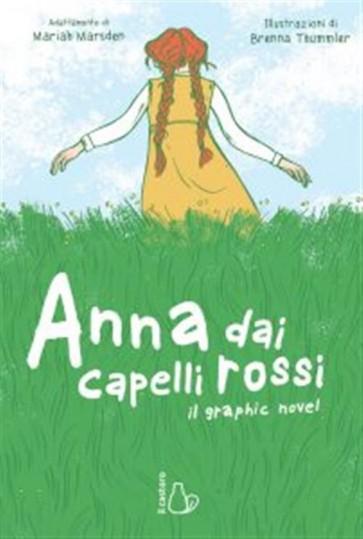 ANNA DAI CAPELLI ROSSI - IL GRAPHIC NOVEL