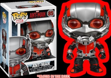 ANT-MAN - POP FUNKO VINYL FIGURE 85 ANT-MAN GLOW IN THE DARK LIMITED ED. 9 CM